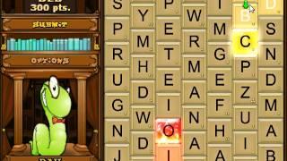 Bookworm Deluxe Game Play