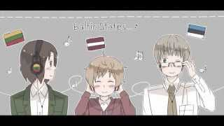 Baltic Trio Character Song - Peace Sounds Nice (Full Translations) APH