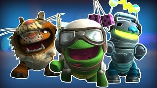 LittleBigPlanet 3 - All Story Mode Costumes For Oddsock -  LBP3 PS4