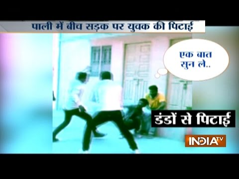 Video Of Group Of Men Beating A Youth In Pali Goes Viral On Social Media