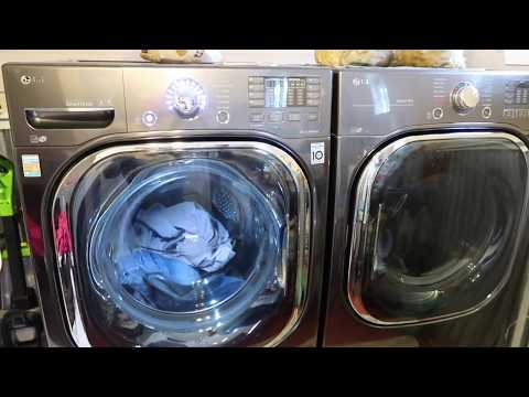 LG Ultra Large Capacity Turbowash Washer And Turbo Steam Dryer Review