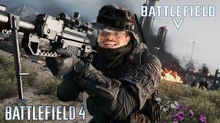 Jogando BATTLEFIELD 4 | O Que achei do BF5(BATTLEFIELD V)