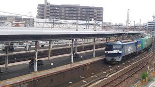 2019.12.7貨物列車1050レ EF210-141号機(吹)代走
