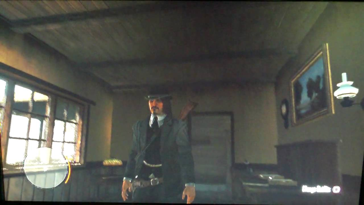 Red dead redemption bureau uniform youtube for Bureau uniform
