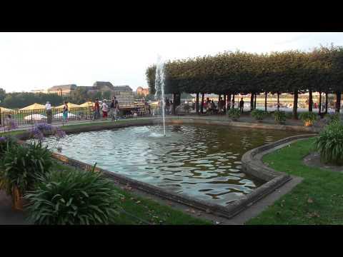 Fountain on Brühl's Terrace