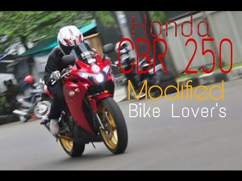 honda cbr 250 modified bike lovers youtube