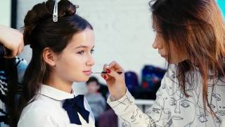 Backstage for Spring Children's Collection 2017