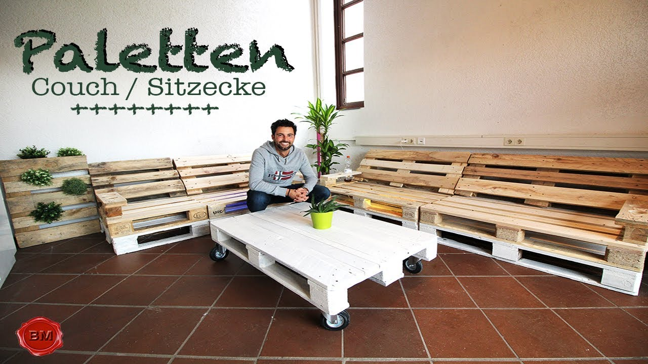 paletten- couch tutorial i ben's mission - youtube