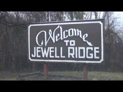 Jewell Ridge, Virginia, Coal Camp - a winter ride through the camp
