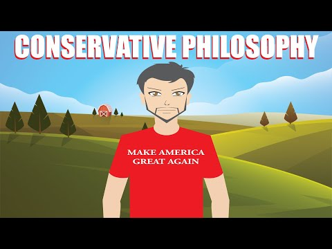 HOW CONSERVATIVES THINK - Conservative Philosophy Explained!
