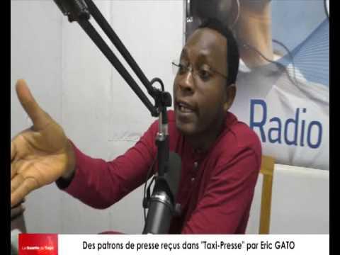 Eric GATO reçoit des patrons de presse pour l'analyse de l'actualité