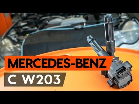 How to replace ignition coil onMERCEDES-BENZ С W203 [TUTORIAL AUTODOC]