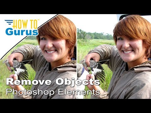Remove Background Objects Using Selections In Adobe Photoshop Elements 2018 15 14 13 12 11 Tutorial