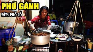 Phở gánh xuyên đêm | mê mẩn hương vị quán ăn đêm phố cổ Hà Nội