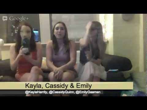 Golden Globes LIVE with Cassidy, Kayla, & Emily!