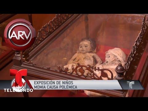 Abrumadoras momias de ni�os causan pol�mica en Bolivia | Al Rojo Vivo | Telemundo