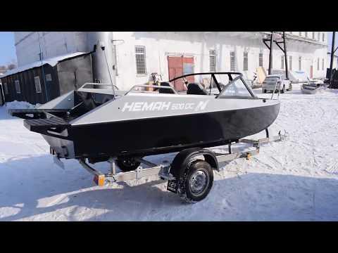 Видеообзор алюминиевой моторной лодки Неман 500DC от компании Вятбот