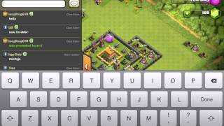 Tolling on clash of clans w/ XxTacoman452xX