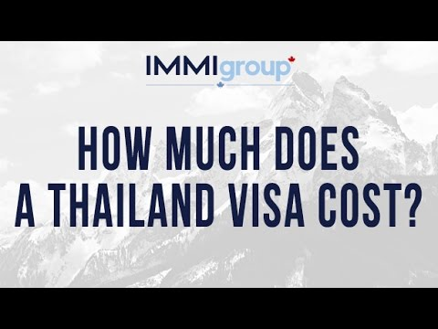 How much does a Thailand visa cost?