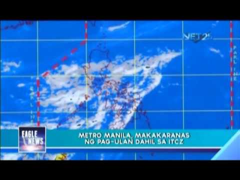 ITCZ causes rain in Luzon