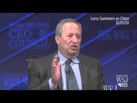 Lawrence Summers, in His Own Words