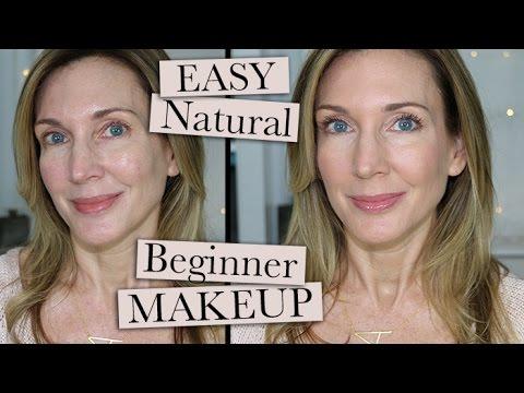 Easy Natural Beginner Makeup for Mature Women!