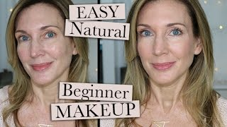 Easy Natural Beginner Makeup for Mature Women!
