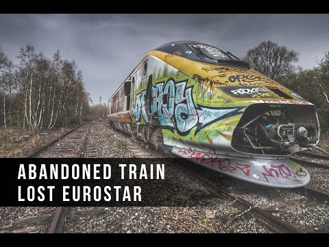Urbex Abandoned Train Hidden In The Woods - Lost Eurostar