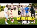 INSANE Mini-Golf TRICKSHOT Basketball