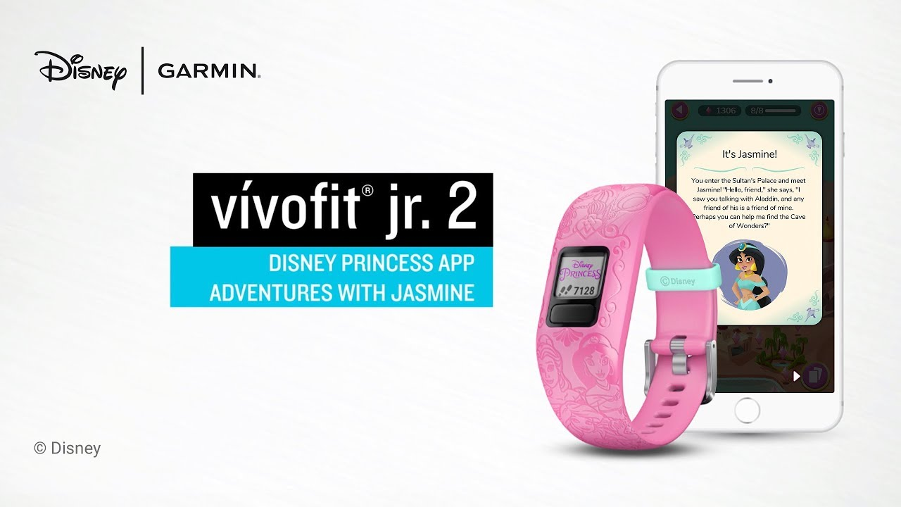 Garmin vívofit jr  2 Disney Princess App Adventures with Jasmine
