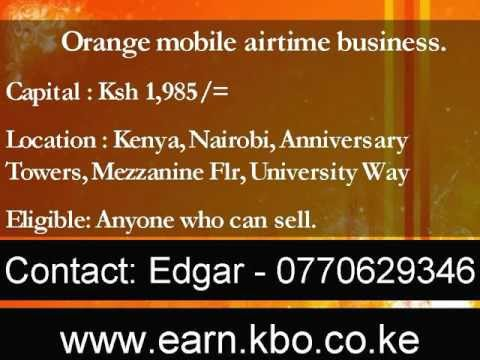 How to Start a business in kenya, airtime,sim distribution, earn weekly, capital: Ksh 1,985 / USD 25