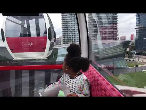 Shiloh Spence goes on cable cars in London