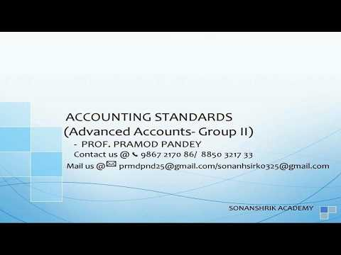 Accounting standard - CA - IPCC Group II ( Notes).
