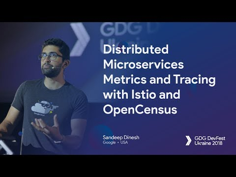 Distributed Microservices Metrics and Tracing with Istio and
