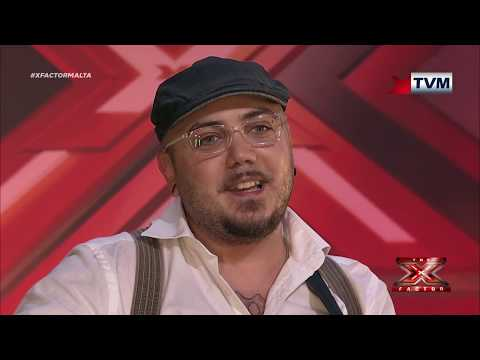 X Factor Malta - Auditions - Day 3 - Glen Paul Pace