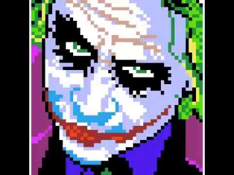 Joker Sandbox Colouring - YouTube