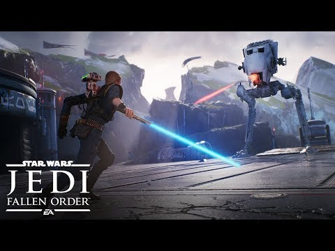 Mansour's Musings - Star Wars Jedi: Fallen Order debuts at E3 and looks Freaking Sweet!