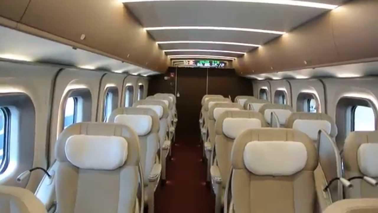 Take The Quot Granclass Quot Train E5 Shinkansen First Class