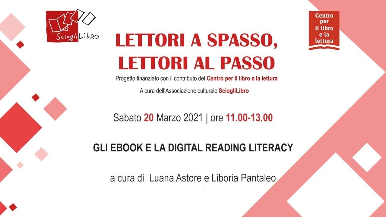 Gli e-book e la Digital Reading Literacy con Luana Astore e Lidia Liboria  Pantaleo - YouTube