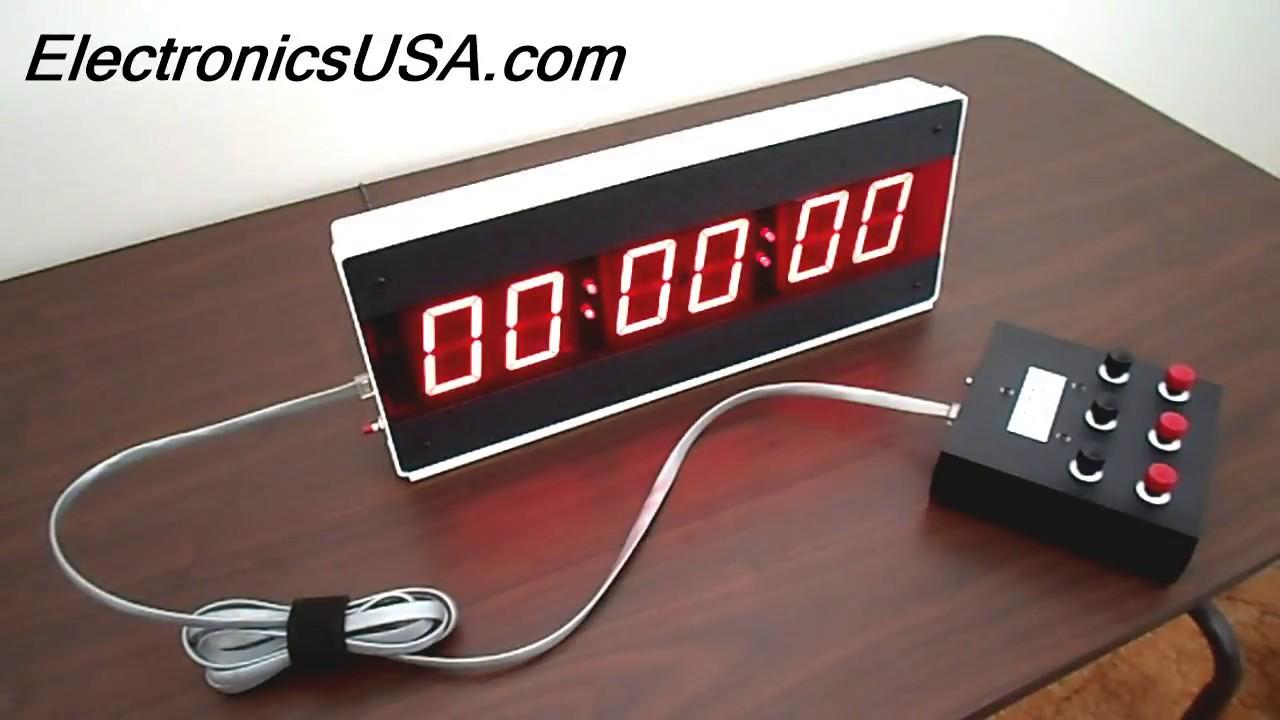 Digital Timers | LED Small & Large Digital Countdown Timer List