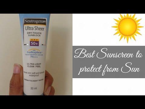 Best Sunscreen | neutrogena Sunblock SPF 50 | sunscreen for Indian