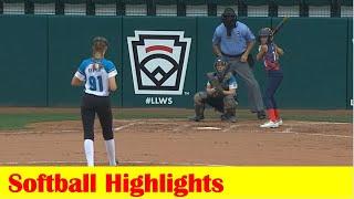 Land O' Lakes FL vs Midlothian VA Softball Game Highlights, 2021 Little League World Series