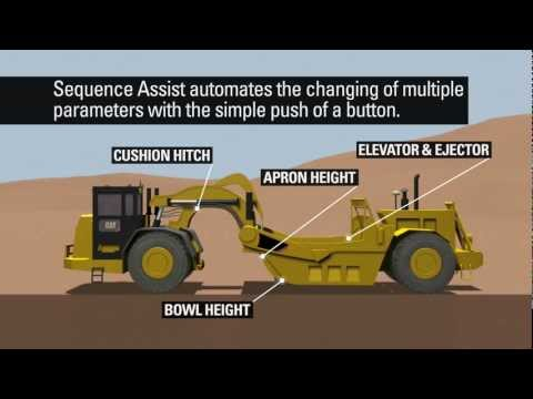 Cat® Grade Control For Scrapers: Sequence Assist
