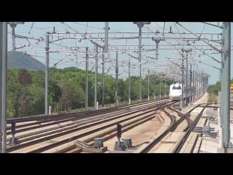 Shanghai - Fuzhou in First Class Chinese High-Speed Train -