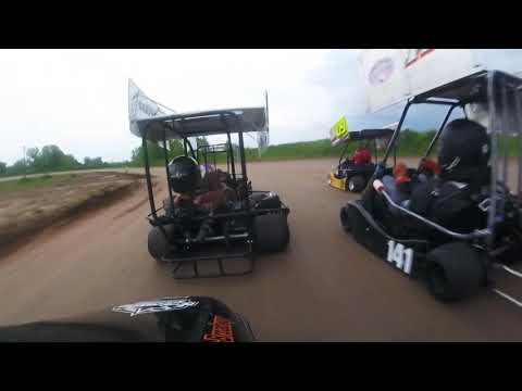 Paradise Speedway Wing champ karts 2019