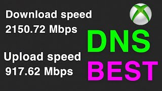 XBOX ONE BEST DNS SERVERS AND DNS SETTINGS FASTER INTERNET CONNECTION NEW!