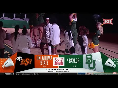 Oklahoma State Vs. Baylor Women's Basketball Highlights