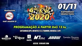 KVR Kart 2020 - 6º Etapa Granja Viana