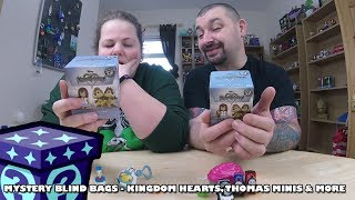 Kingdom Hearts Mystery Minis, Thomas Minis & More - Mystery Blind Bags #46 | Adults Like Toys Too
