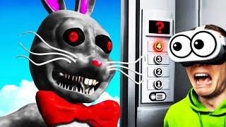 Unlocking SECRET MR HOPP FLOOR With VR ELEVATOR